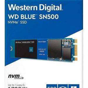 Ssd M.2 2280 Wd Blue Sn500 500gb Pcie 3.0 X2