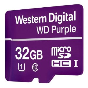 Memoria Microsd Wd Purple 32gb Uhs-i U1