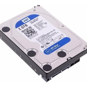 Hdd Interno Wd Blue 3.5 2tb Sata3 Pc Comp Basico Wd20ezrz