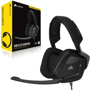 Audífonos Gamer CORSAIR VOID RGB Elite USB, Sonido 7.1, Carbon