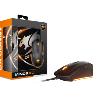 Combo Mouse y Mousepad Gamer COUGAR MINOS XC