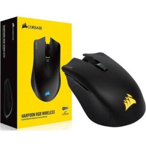 Mouse Gamer CORSAIR Harpoon RGB Inalambrico – Negro